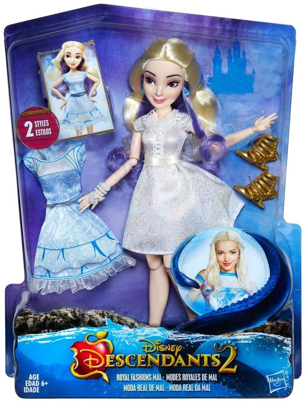 Кукла Наследники Дисней в платье для коронации, темные герои B3120 ...   1280x978