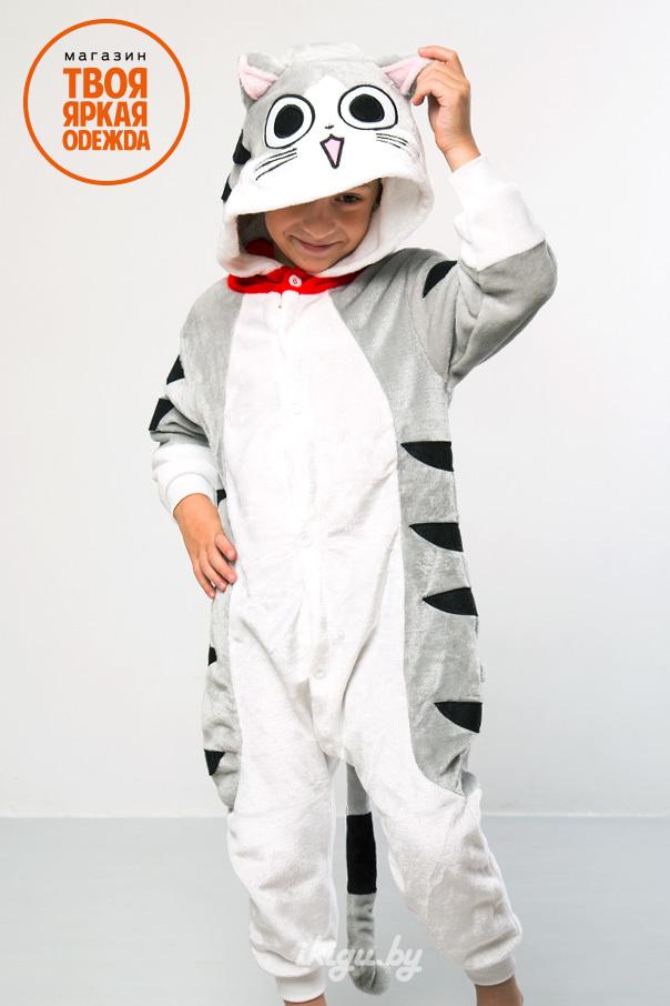 "Детские пижамы кигуруми ""Котенок Чи"" cat.jpg"