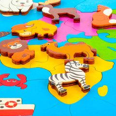 Мозаика Карта мира