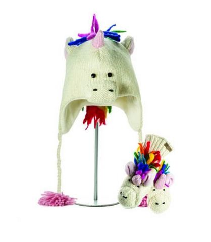 шапка с ушами Knitwits Ummi the Unicorn