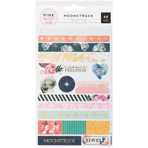 Скотч декоративный  Moonstruck- Pink Paislee