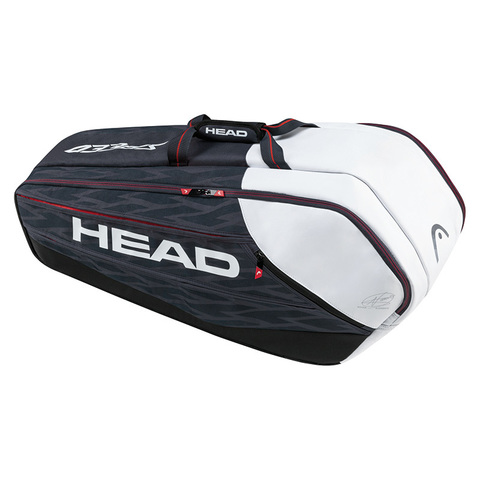 Сумка теннисная HEAD DJOKOVIC 9R MONSTER COMBI / 283087 BKWH