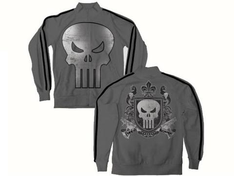 T-Shirt - Punisher Crest Punishment Track Jacket