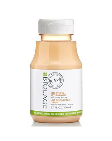 Разглаживающее молочко с мёдом и экстрактом овса,Matrix Biolage RAW ,200 мл.