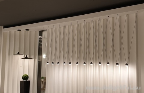 Vibia style light composition 2