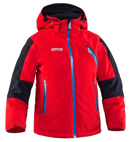 Детская горнолыжная куртка 8848 Altitude Bam красная