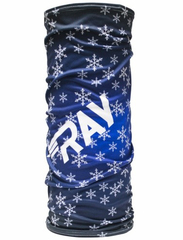 Баф Ray Flag RF Big Snowflake Blue Print
