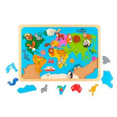 вкладыш Карта мира