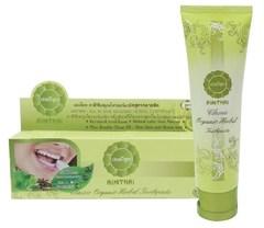 Органическая травяная зубная паста AIMTHAI