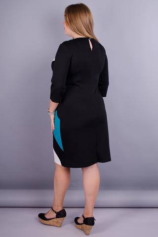 Клавдія. Оригінальне жіноче плаття великих розмірів. М'ята.