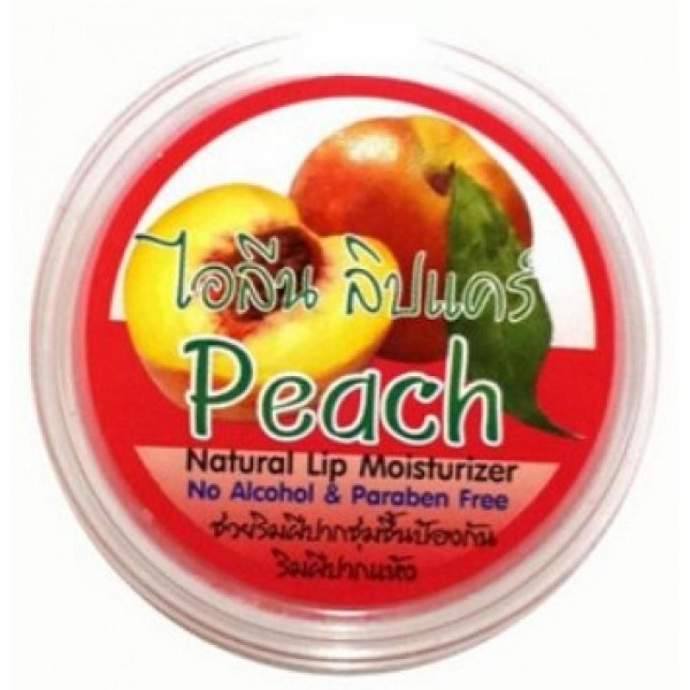 Ilene Увлажняющий блеск для губ с Персиком Natural Peach Lip Moisturizer, 10 г