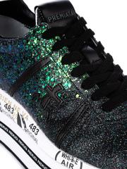 Текстильные кроссовки Premiata Beth 4036 на шнуровке