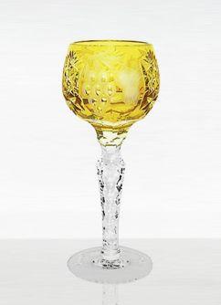 Стопки Рюмка для ликера 60мл Ajka Crystal Grape янтарная ryumka-dlya-likera-60ml-ajka-crystal-grape-vengriya.jpg