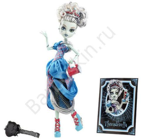 Кукла Monster High Фрэнки Штейн (Frankie Stein) в роли Золушки (Threadarella) - Страшные сказки, Mattel