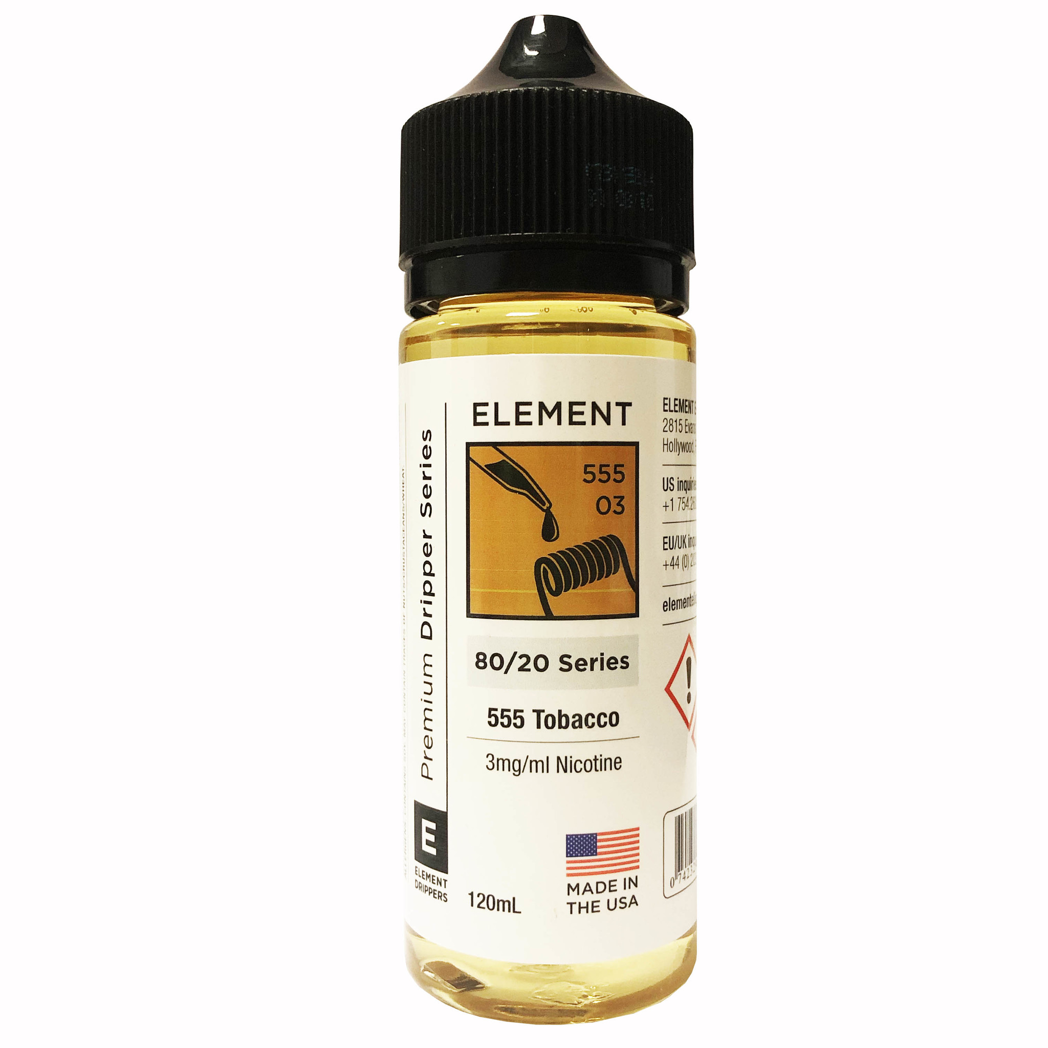 555 Tobacco by Element