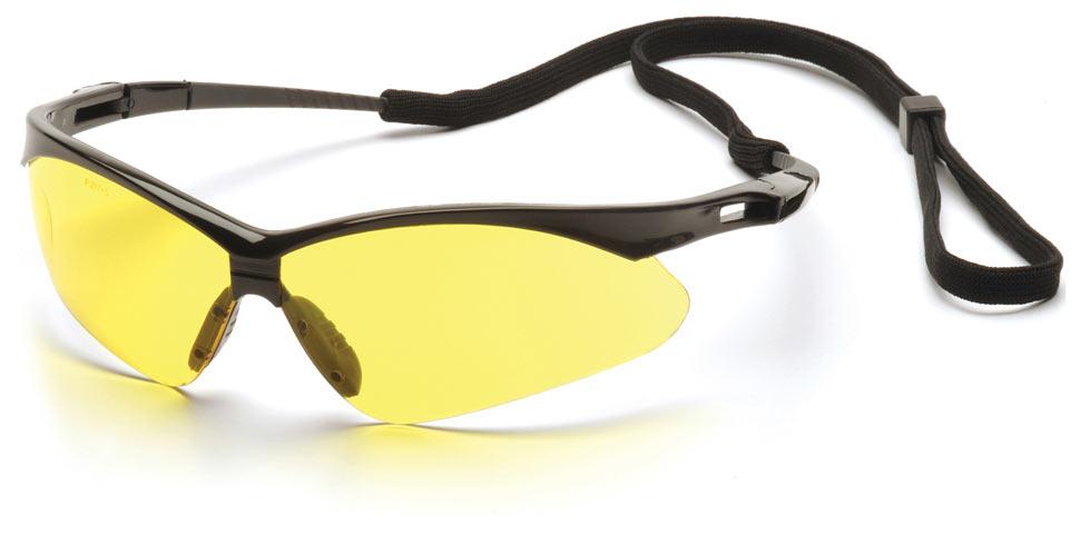 Очки баллистические стрелковые Pyramex PMXTREME SB6330SP желтые 89%