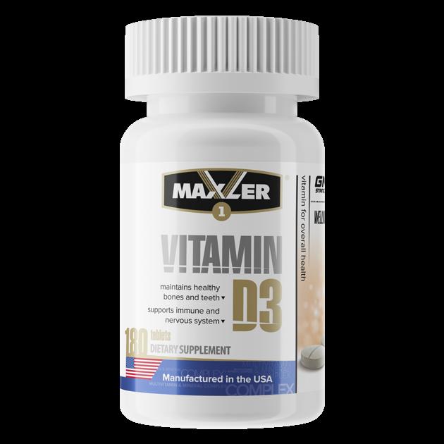 Maxler Vitamin D3 (180 таб.)