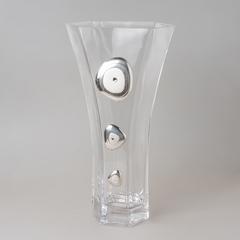 Ваза декоративная 35 см кристаллы 6768/336
