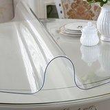 Прозрачная скатерть пленка на стол