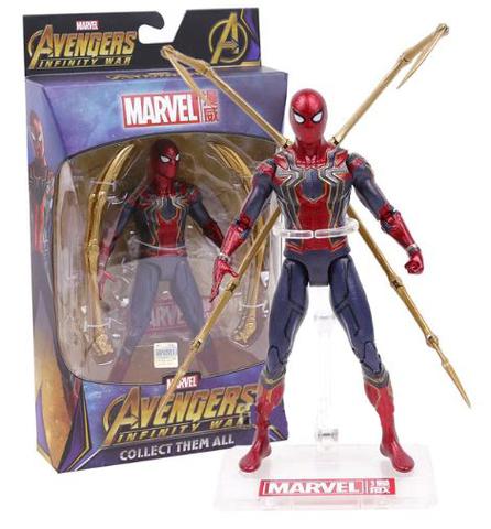 Марвел Мстители Война Бесконечности фигурка Железный паук