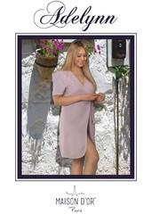 ADELYNN - АДЕЛИНН женский махровый халат Maison Dor Турция