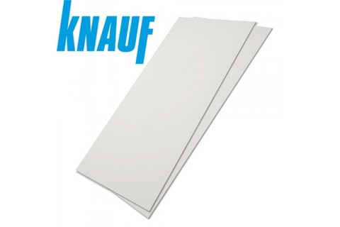 ГКЛ Кнауф, 9,5 мм, Гипсокартонный лист обычный 1200х2500х9,5 мм