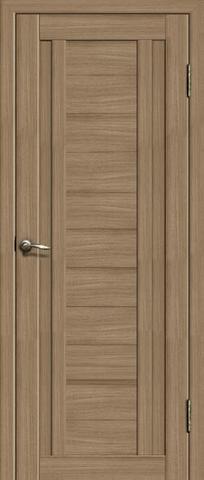 Дверь La Stella 204, цвет тиковое дерево, глухая