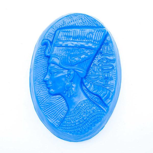 Пластиковая форма для мыла Нефертити
