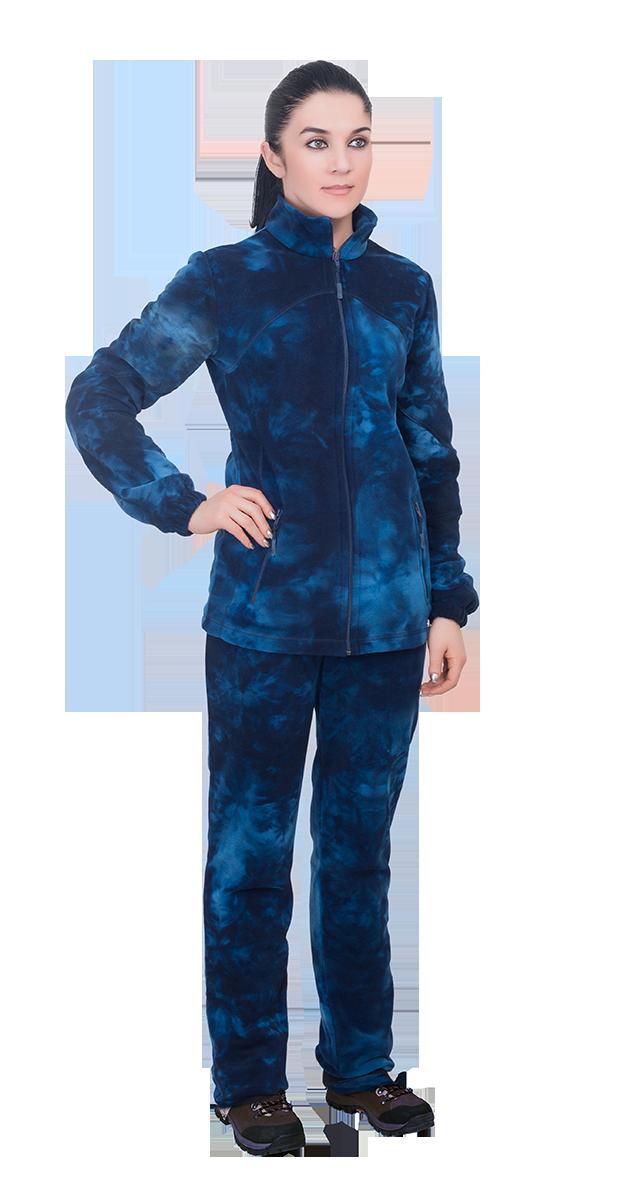 Одежда из флиса Костюм женский Сапфир / флис / синий 179a37a89fb3038817467557d888f193.png