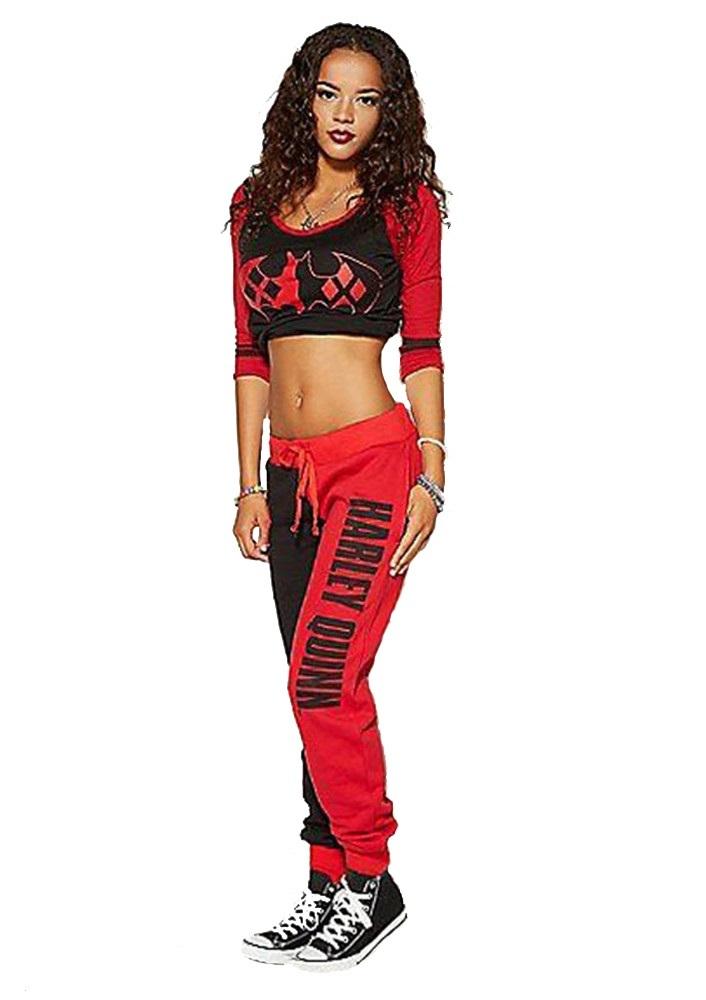 Харли Квинн спортивный костюм — Harley Quinn tracksuit women