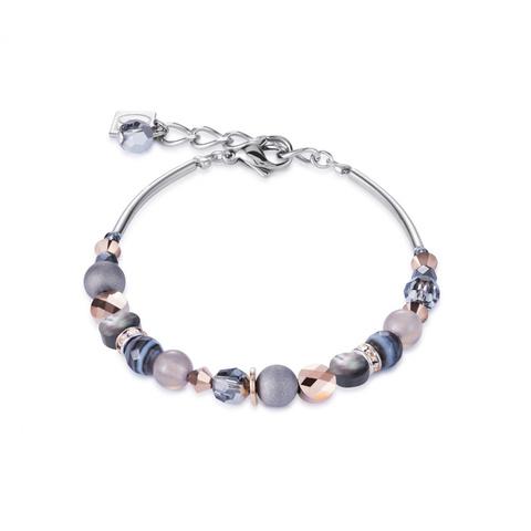 Браслет Coeur de Lion 4914/30-1200 цвет серый