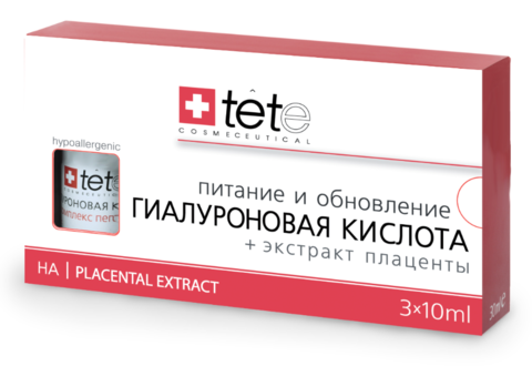 Tete Hyaluronic Acid + Placental Extract - Экстракт плаценты