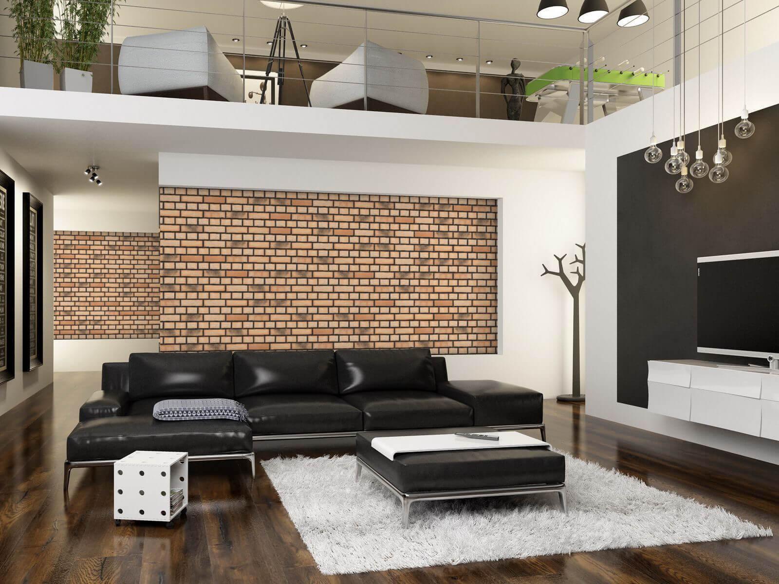Feldhaus Klinker - R766NF14, Vascu Sabiosa Rotado, 240x14x71 - Клинкерная плитка для фасада и внутренней отделки