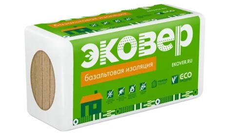 Эковер Стандарт 50 кг/м3 1000х600х100 6 шт