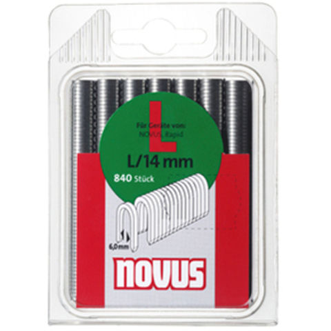 Скобы L/14 NOVUS (840 шт)