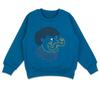 Джемпер для мальчика синий Силач