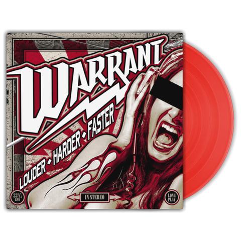 Warrant / Louder Harder Faster (Coloured Vinyl) (LP)