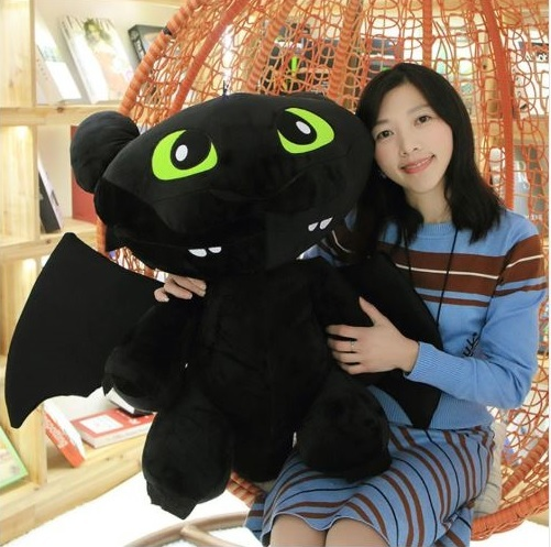 Как приручить Дракона 3 мягкие игрушки Дневная и Ночная Фурия