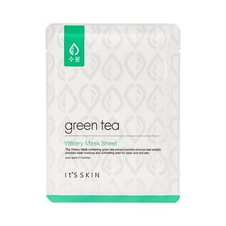 Тканевые маски Успокаивающая тканевая маска с экстрактом зеленого чая It's Skin Green Tea Watery Mask Sheet Успокаивающая_тканевая_маска_с_экстрактом_зеленого_чая_It_s_Skin_Green_Tea_Watery_Mask_Sheet.jpg