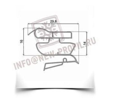 Уплотнитель 109*59 см для холодильника Zanussi Z626160 (холодильная камера)  Профиль 022