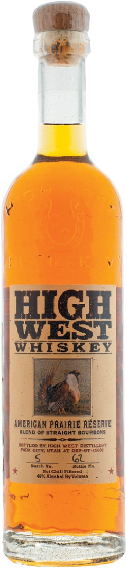 Хай Вест Американ Прери Резерв, купажированный кукурузный виски 0,7л
