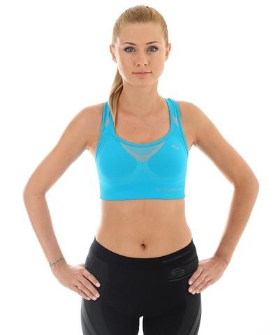 Brubeck Thermo спортивный топ женский голубой