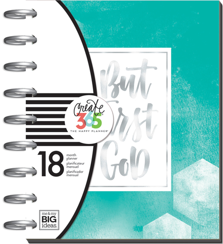 Ежедневник Happy Planner от Me & My Big Ideas- Create 365 Medium Planner  19,5х24,5см -Have Faith / HORIZONTAL