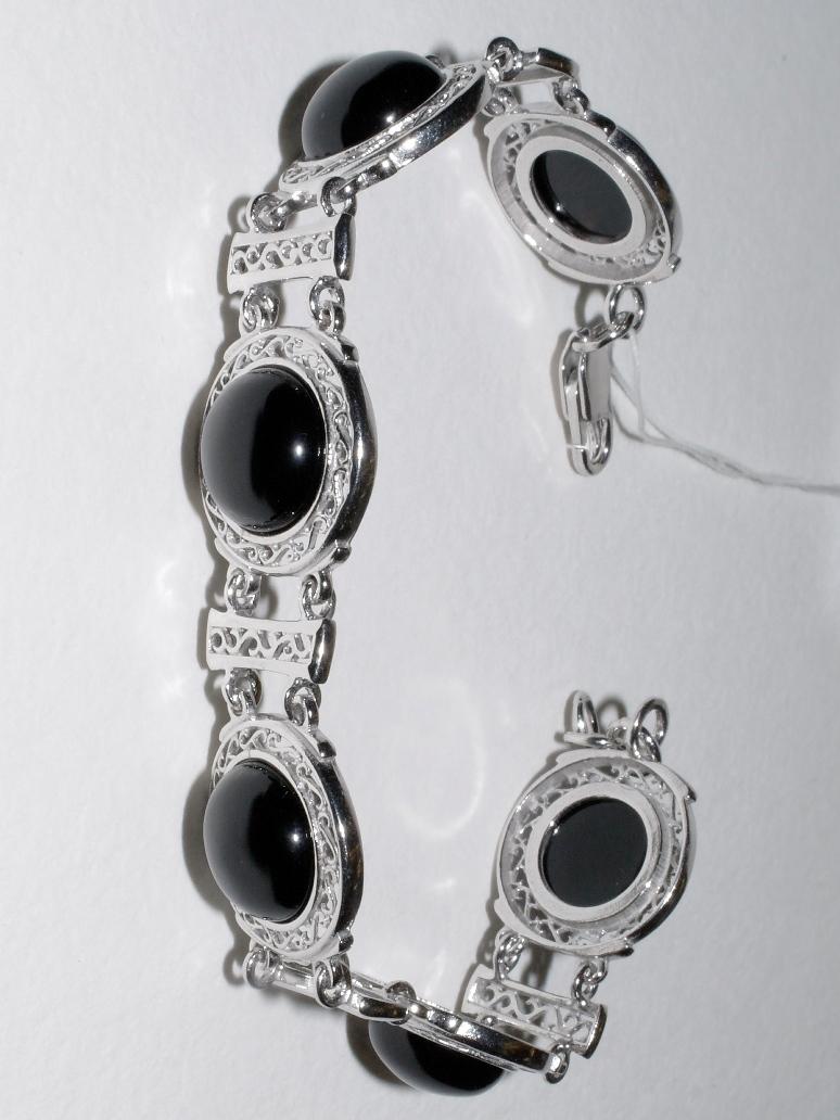 Дина (браслет из серебра)
