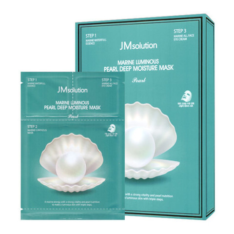 Маска JMsolution Marine Luminous Pearl Deep Moisture Mask 10шт.