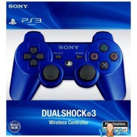 Sony PS3 Контроллер игровой беспроводной (синий, копия)