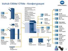 Цветное мфу Konica Minolta bizhub C754e (A2X1021)