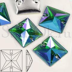 Купить стразы пришивные оптом квадраты Square Crystal AB