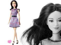 """Кукла Барби """"Модница"""" с кольцом (сиреневое платье)"""