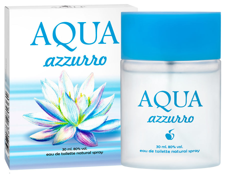 AQUA Azzuro, Apple parfums